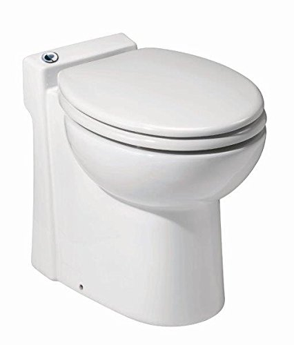 Saniflo Sanicompact Self-Contained Upflush Toilet.