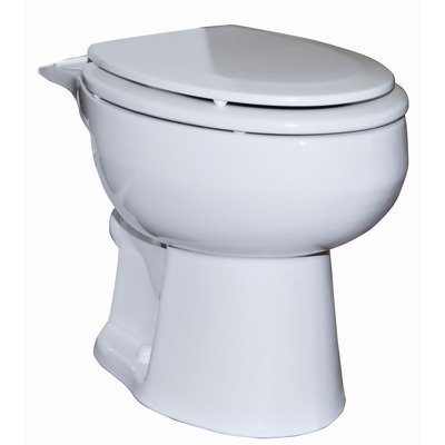 Zoeller Ultima Elongated Upflush Commode.