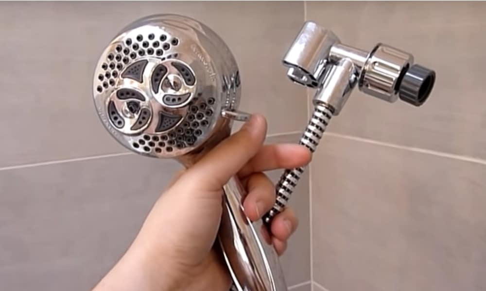 Step 1 Get Rid Of the Shower Head
