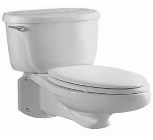 wall surface place toilet